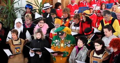Halleluja - Narrenmesse Hayingen 2012